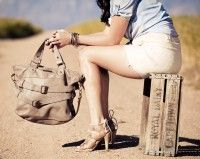 Rock's The Grace Leather Tote with Buckle Detailing. Luxury Leather Handbags straight from Cape Town, SA
