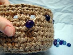 how to crochet a basket  Try this one Kath