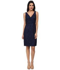 Donna Morgan Lulu V-Neck Lace Dress