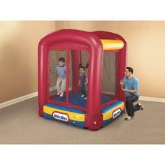 Little Tikes Bounce House Kids Trampoline with Enclosure $87.99 Target