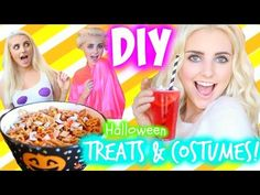 DIY Halloween Treats & Last Minute Costume Ideas! | Aspyn Ovard - YouTube