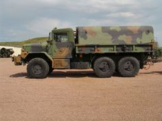 The M35 2½-ton cargo truck is a long-lived 2½ ton, triple-axle, 6x6 cargo truck initially used by the United States Army