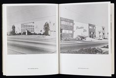 One of Ed Ruscha's groundbreaking mass-produced artist's books, Some Los Angeles Apartments documents the banality and standardization of the urban landscape of his adopted home of Los Angeles. In deadpan style, Ruscha presents an extended sequence of black and white photographs of the city's ubiquitous mid-century dingbat and low-rise apartment block. For Ruscha, the array of variations within a formulaic architectural type reflected the unique culture of postwar Los Angeles, whi...