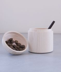 Shop and discover emerging brands from around the world Mortar And Pestle, Canisters, Wood, Shopping, Madeira, Woodwind Instrument, Wood Planks, Trees, Wood Illustrations