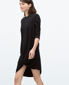 Image 3 of COMBINED TIE DRESS from Zara 45.90