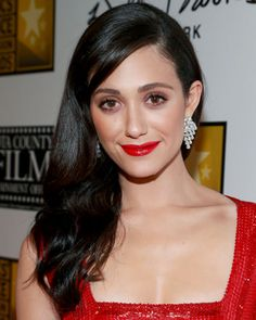 Emmy Rossum's Old Hollywood Waves - Fall's Hottest Hairstyles - Fall Hair Trends 2013 - Hair - InStyle