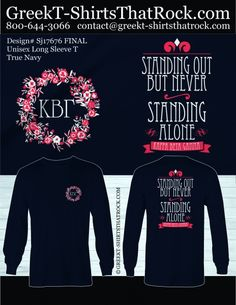 Like this design? We can customize it for  you! Just email your instructions to prographics . sportswear @ gmail . com #greektshirtsthatrock #GTTR
