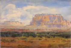 The Enchanted Mesa by William Henry Holmes / American Art