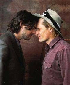 Karl Urban and Viggo Mortensen