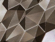 3D Plate Made Of Aluminium, Perforated Fielittz.de Info@fielitz.de