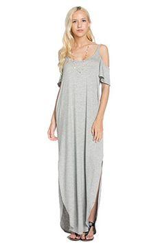My Space Clothing Women's Jersey Cold-Shoulder Maxi Dress... https://www.amazon.com/dp/B01EKL2WA0/ref=cm_sw_r_pi_dp_udpLxbF6YRHC1