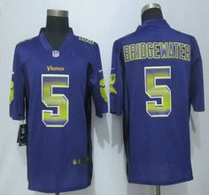 Minnesota Vikings Shaun Hill LIMITED Jerseys