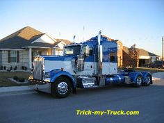 Tricked Out Semi Trucks   ... -My-Truck chrome shop   semi truck accessories   truck accessories