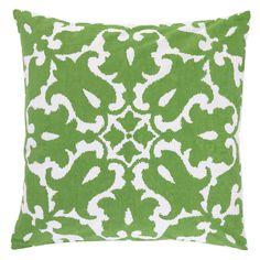 Allem Studio Sindoor Green Pillow @Zinc_Door
