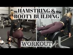Hamstring and Booty Focused Workout | WHITMAS DAY 20 - YouTube