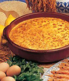 Arroz de pescado con costra Spanish Kitchen, Spanish Dishes, Spanish Food, Mexican Food Recipes, Diet Recipes, Ethnic Recipes, Tapas, Banana French Toast, Avocado Recipes