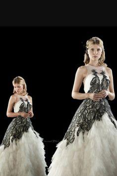 Fleur Delacour wedding dress replica Cosplay Pinterest Fleur