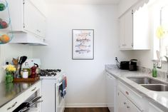5 Lessons to Steal from This Kitchen If You Have Limited Counter Space — Organizing Tips from Kitchn