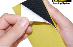 The Decorating Dean reviews the latest sanding tools from Handi-Pad.