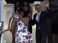 Obama Arrives in Havana for Historic Visit - YouTube Cuba News, Feel Good Pictures, Freedom Of The Press, Cuba Travel, Prom Dresses, Formal Dresses, Havana, Obama, Weather