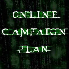 Online Campaign Plan – How it should look like