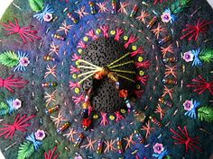 Beaded Mandala by  Chris richards
