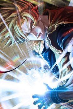 Goku, wer ihn nicht kennt hatte keine richtige Kindheit.        KA ME HA ME HAAAAAAAAAAA