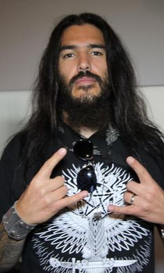 Robb Flynn ~ Machine Head.  Ceiling poster.  Lol!