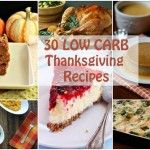 30 Low Carb Thanksgiving Recipes | All Day I Dream About Food