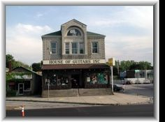 House of Guitars in Rochester NY.  This is where my parents bought me my 1st drum kit.  I love this place and I'm glad to see they are still in business.