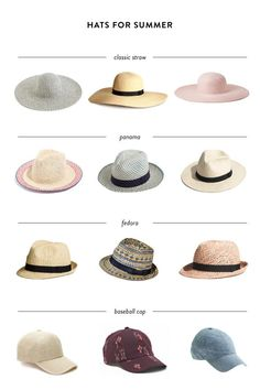 33126a6eceeca By fashion editor Ashley Image Every time I wear a hat in the summer I
