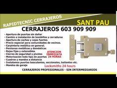 CERRAJEROS SANT PAU VALENCIA 603 909 909