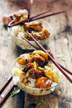 Dorian cuisine.com Mais pourquoi est-ce que je vous raconte ça... : Poulet Tokyo Express… Parce qu'il fait trop chaud pour cuisiner mais aussi trop beau pour ne pas manger dehors…