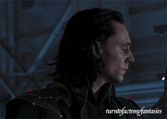 "Tom Hiddleston ""Loki"" I've got two words for you. That. Hair."