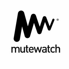 The M from Mutewatch begins to slowly get smaller and smaller as it moves right, symbolizing it getting quieter and quieter.