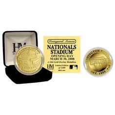 Nationals Park 24KT Gold Commemorative Coin