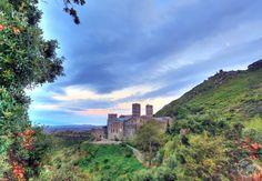Monastery of Sant Pere de Rodes at Sunset, Port de la SelvaSpain