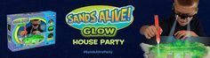 Saving 4 A Sunny Day: Host a Sands Alive! Glow House Party