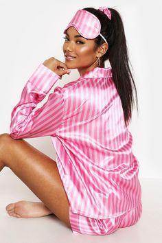 Pajamas For Women Sleepwear Lacy Panties Transparent Nightwear Online – watermelontal Cute Sleepwear, Loungewear Set, Sleepwear Women, Pajamas Women, Dog Pajamas, Satin Sleepwear, Pjs, Baby Outfits, Night Outfits