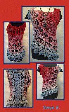 Die 796 Besten Bilder Von Tunika Häkeln Crochet Clothes Yarns Und