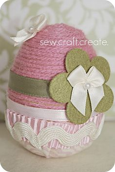 What a cute idea for an easter egg. I really want to use this as gifts next year