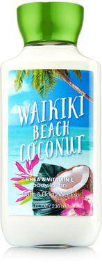 Waikiki Beach Coconut Body Lotion - Signature Collection - $3.00 Bath & Body Works