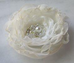 ivory rhinestone pearl
