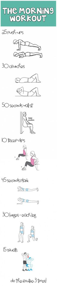 The simplest workout for your entire body.