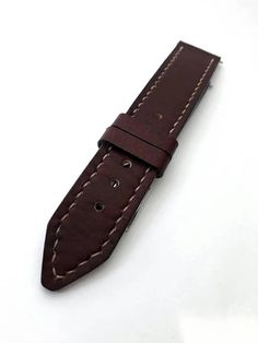 Check out this item in my Etsy shop https://www.etsy.com/listing/534001512/watch-strap-leather-buffalo-22mm