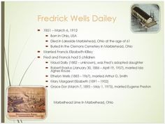 Dailey Family Tree - page 15 Fredrick Wells Dailey 1851 - 1912