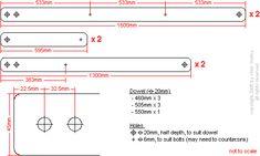 Deck chair cutting plans