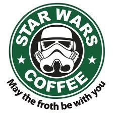 """Star Wars Coffee """"May The Froth be With You"""""""