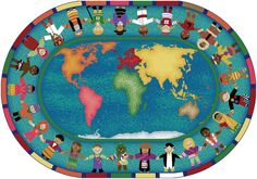 Classroom Rugs keep kids organized while learning. Brighten up any classroom with an interactive commercial quality carpet. Find the best classroom carpet brands available. History Classroom Decorations, World History Classroom, Classroom Ideas, Classroom Design, Classroom Inspiration, Nursery Inspiration, Kindergarten Classroom, Art Classroom, Nursery Ideas