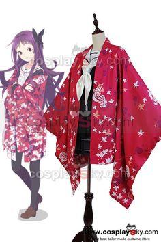 Hanayamata Yaya Sasame Kimono Cosplay Costume ----Hanayamata Cosplay Costume | CosplaySky.fr